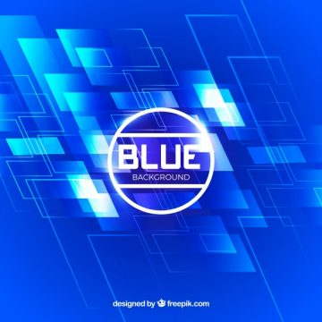 Free vector Abstract blue technological background #21506