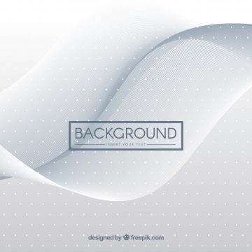 Free vector Abstract wave white background #21504
