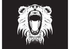 Free vector Angry Lion Graphics #22124
