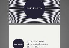 Free vector Background Vector abstract creative business card template #20012