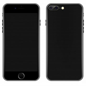 Free vector Black Mobile phone vector template #20623