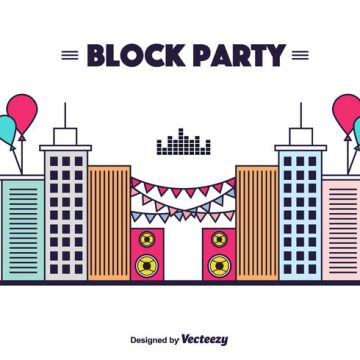 Free vector Block Party Vector Background #23307