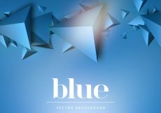 Free vector Blue abstract background #21484