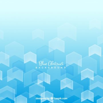Free vector Blue background with abstract shapes  #19411