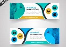 Free vector Business banner design #22221