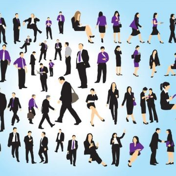 Free vector Business People Set #23032