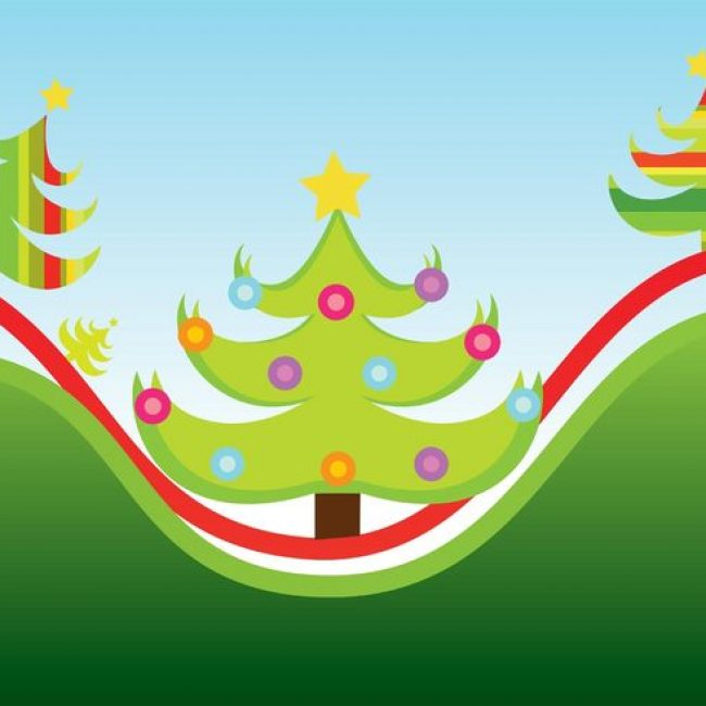Free vector Christmas Trees #22596