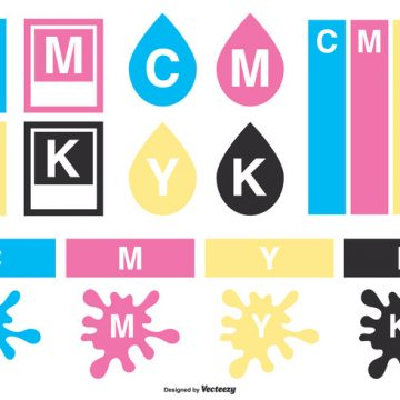 Free vector CMYK Vector Elements Collection #21269
