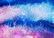Free vector Colorful watercolor background of galaxy #19264