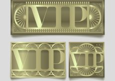 Free vector Cool set of vip cards with wheels #19258