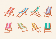 Free vector DECK CHAIR #22548