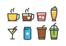 Free vector Drink Icon Pack #22944