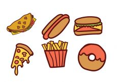 Free vector Food Vector Pack #19319