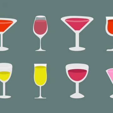 Free vector Free Alcohol and Cocktail Icons Vector #21749