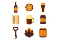 Free vector Free Beer Vector Icons #22854