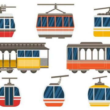 Free vector Free Cable Car Vector #19174