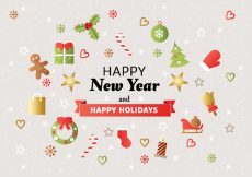 Free vector Free Christmas Background Vector #21671
