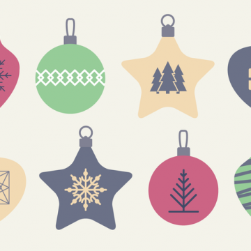 Free vector Free Christmas Baubles Vector #22774
