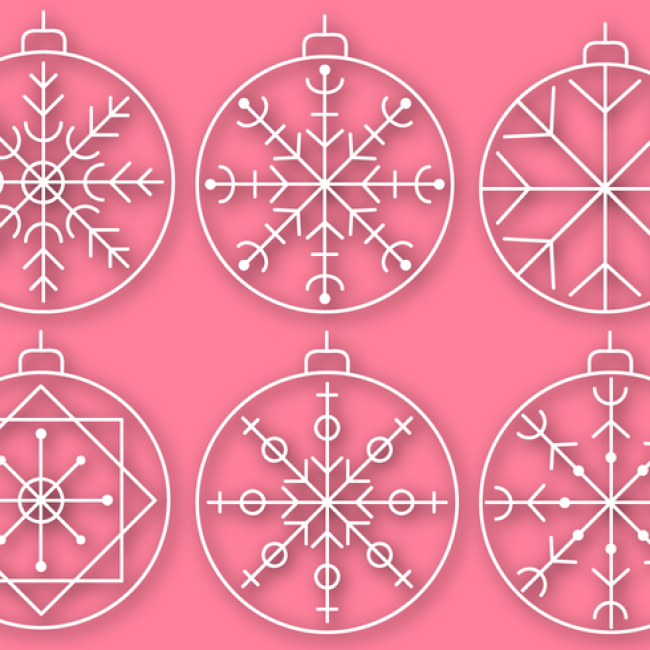 Free vector Free Christmas Baubles Vector #22776