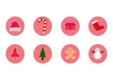Free vector Free Christmas Icon Vector #21683