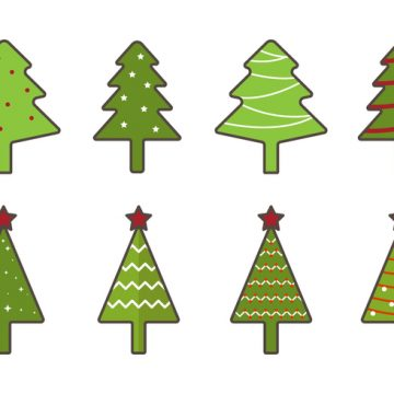 Free vector Free Christmas Tree Vector #22736