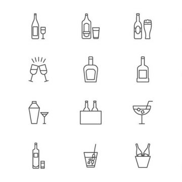 Free vector Free Cocktail and Spritz Vectors #22882