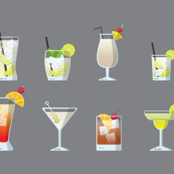 Free vector Free Cocktails Vector #22986