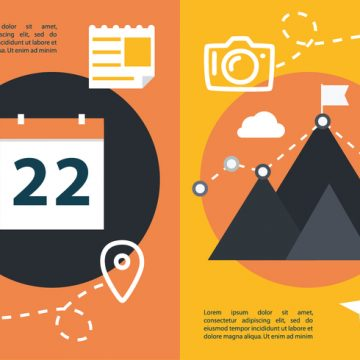 Free vector Free Flat Travel Concept Vector #20882