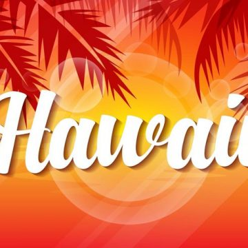 Free vector Free Hawaii Sunset Vector Illustration #22658