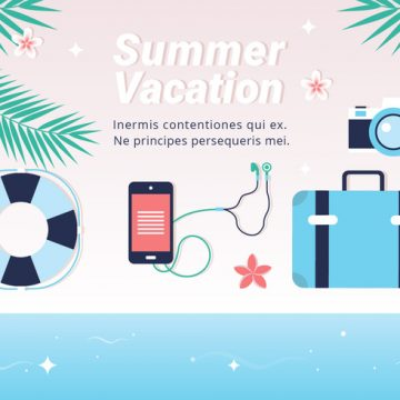 Free vector Free Hello Summer Vector Background #21575