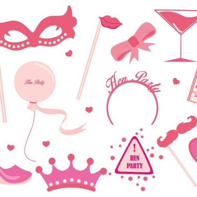 Free vector Free Hen Party Ladies Night Party Vector #22962