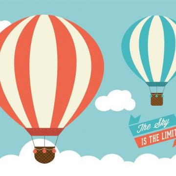 Free vector Free Hot Air Balloons Vector Graphic #21014