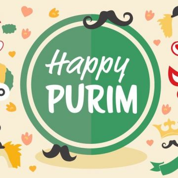 Free vector Free Jewish Holiday Purim Vector #20992