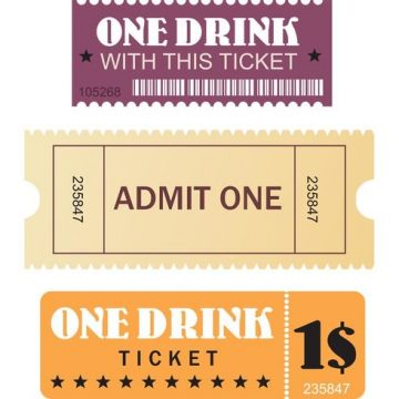 Free vector Free Movie and Events Tickets Vectors #23273