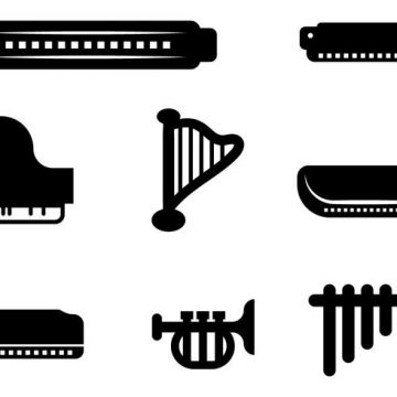 Free vector Free Music Vector Icon #21132