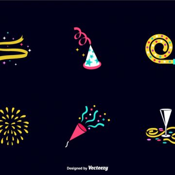 Free vector Free Party Favours Vector Icons #23202