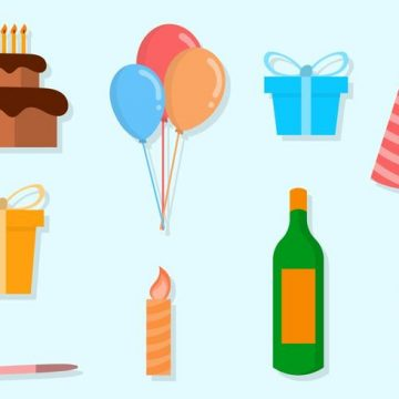 Free vector Free Party Vector Icons #23279