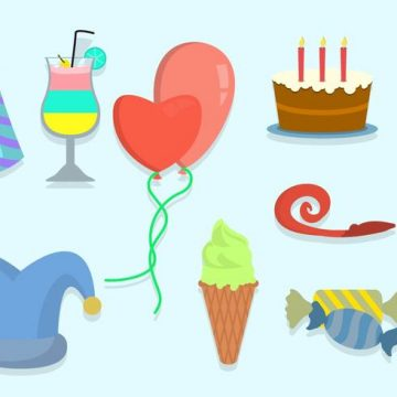 Free vector Free Party Vector Icons #23283