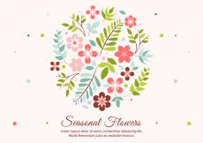 Free vector Free Spring Flower Vector Elements #21659