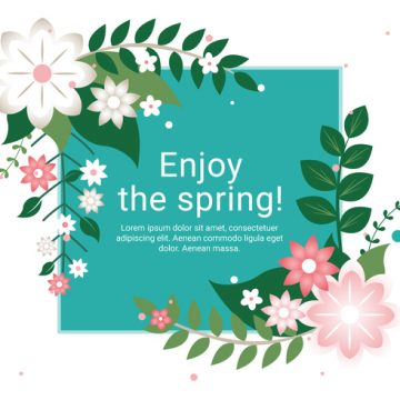 Free vector Free Spring Season Vector Background #22510