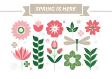 Free vector Free Spring Season Vector Background #22566