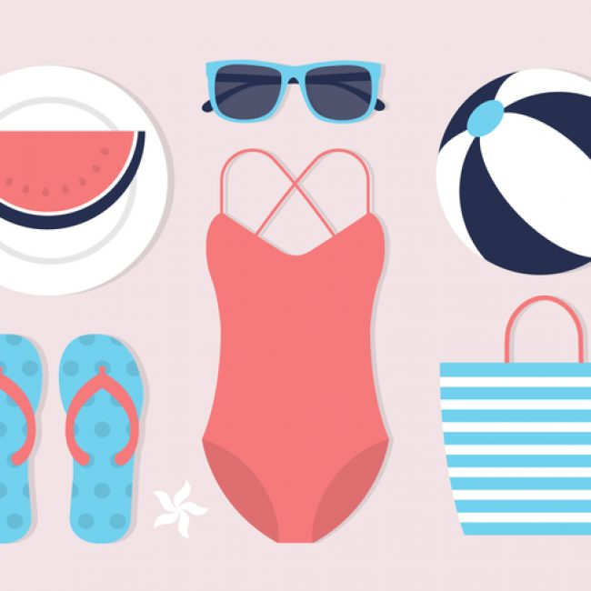 Free vector Free Summer Icons Vector Background #21503
