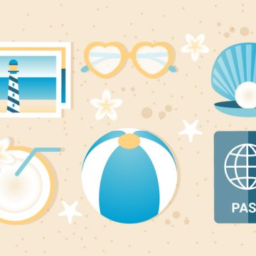 Free vector Free Summer Traveling Template Background #20620