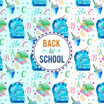 Free vector Free Vector Back To School Illustration #20009