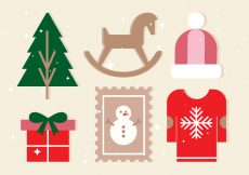 Free vector Free Vector Christmas Design Elements #22426