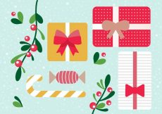 Free vector Free Vector Christmas Gift Boxes #21691