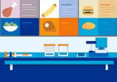 Free vector Free Vector Fast Food Stand #19315