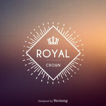 Free vector Free Vintage Crown Logo Vector #21267