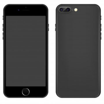 Free vector Gray Mobile phone vector template #20621