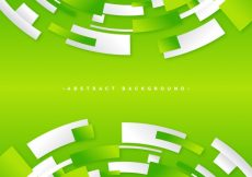 Free vector Green abstract background  #19403